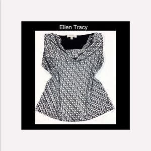 ♠️ Ellen Tracy Small Black & White B…